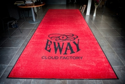 Tapis logo Eway